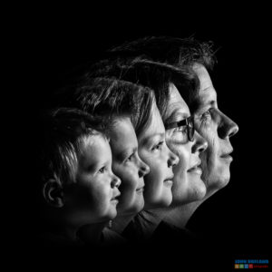 Portretfotografie familieportret of familiefoto